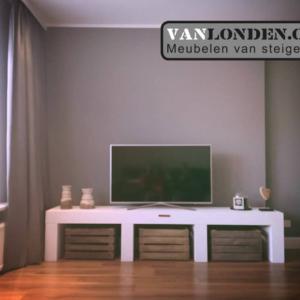 Steigerhouten tv-meubel Ilse (Steigerhouten TV-meubels op maat)