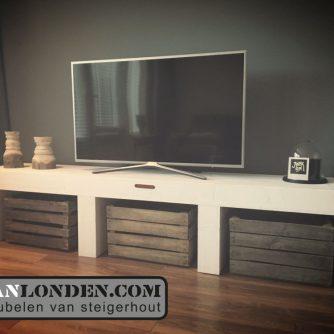 Steigerhouten tv meubel Ilse, VanLondenCom
