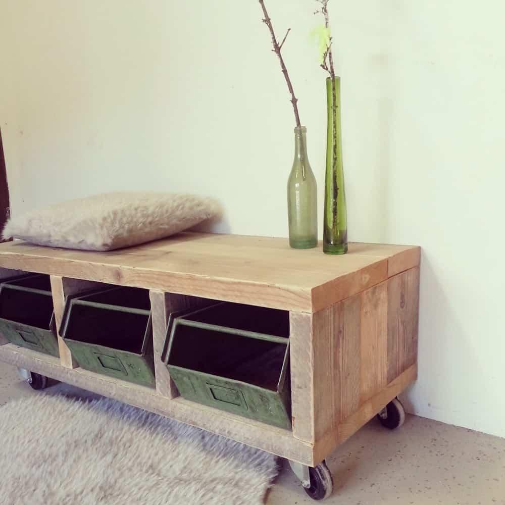 Steigerhouten tv meubel ivy vanlonden steigerhout for Steigerhout tv meubel