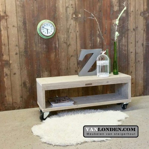 Steigerhouten TV-meubel Freek (Steigerhouten TV-meubels op maat)