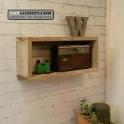 Steigerhouten wandkastje Willem (Steigerhouten accessoires online bestellen)