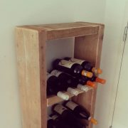 Steigerhouten wijnrek Jules (Diverse steigerhouten kasten bestellen)