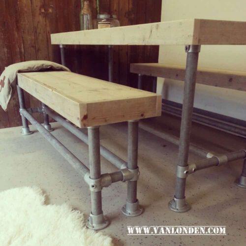 Steigerhouten zitmeubelen op maat bestel je bij vanlonden for Zitbank steigerhout