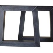 """Tafel onderstel stalen """"trapezium"""" Minke (Steigerhouten eettafels online bestellen)"""