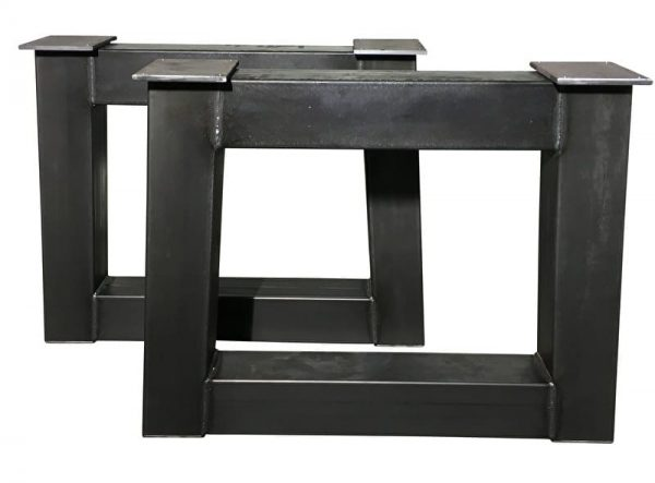 "Tafel onderstel stalen ""trapezium"" Eelco (Steigerhouten eettafels online bestellen)"