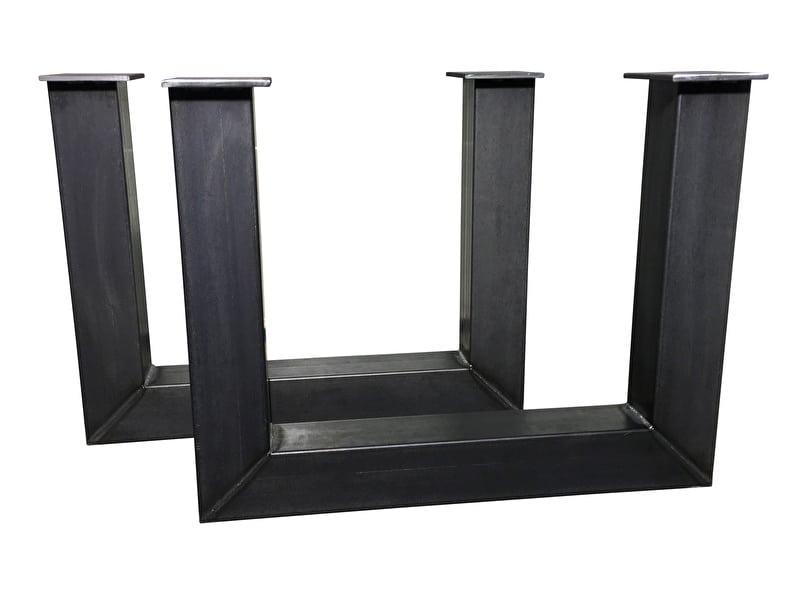 Onderstel Tafel Staal : Tafel onderstel staal u danny vanlonden steigerhout