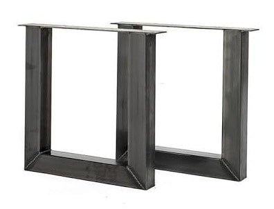 Tafel onderstel staal U Jonah (Steigerhouten eettafels online bestellen)