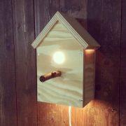 Vogelhuislampje Veerle (Diverse lampen online bestellen in onze webshop)